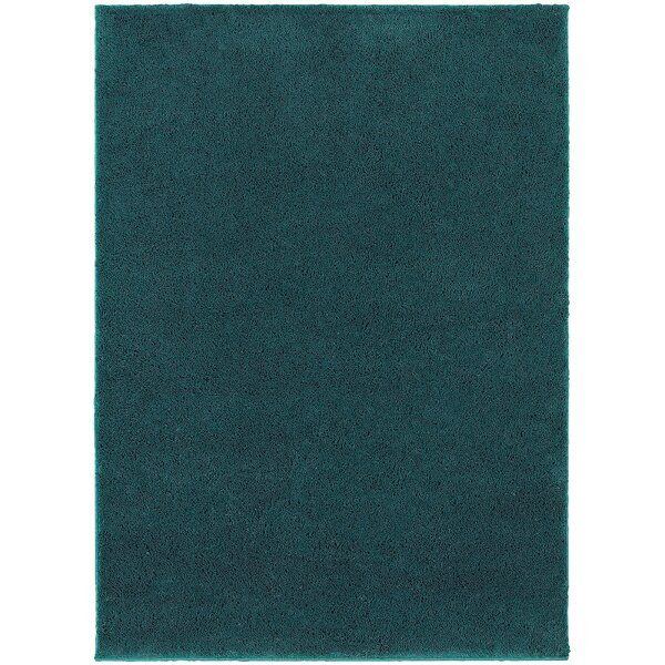 Hanson Teal Area Rug by Threadbind