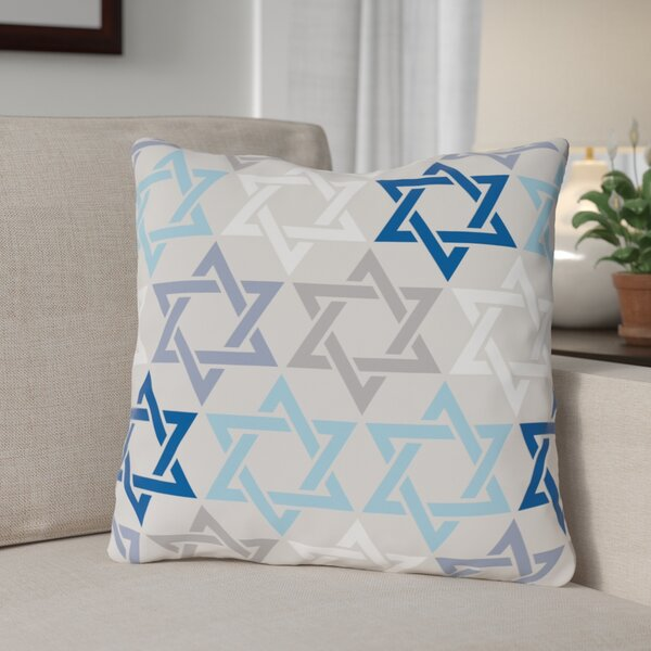 David Pattern Throw Pillow by The Holiday Aisle