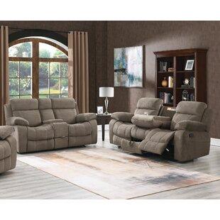 Erminie 2 Piece Velvet Reclining Living Room Set by Red Barrel Studio®