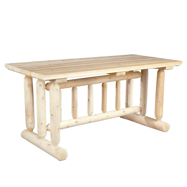 Cedar Harvest Family Dining Table by Rustic Natural Cedar Furniture