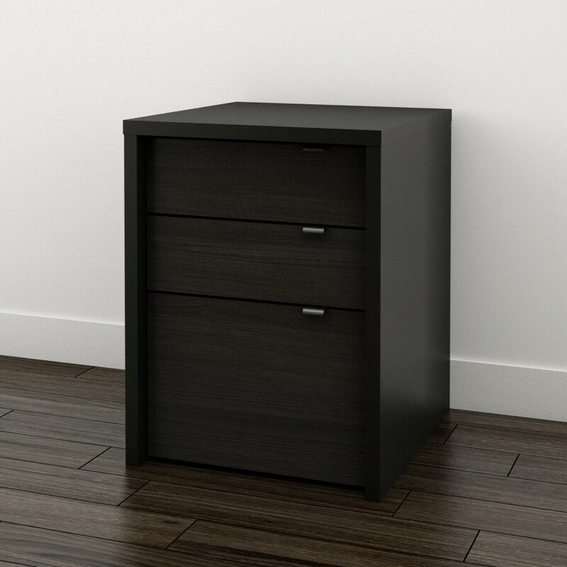 Blaire 3 Drawer File Cabinet