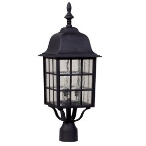 Oakhill 3-Light Aluminum Lantern Head