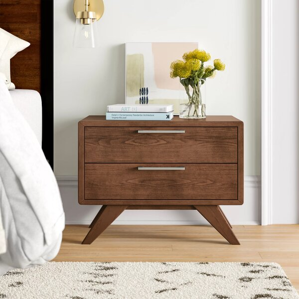 Ronan 2 Drawer Nightstand By Foundstone by Foundstone Spacial Price
