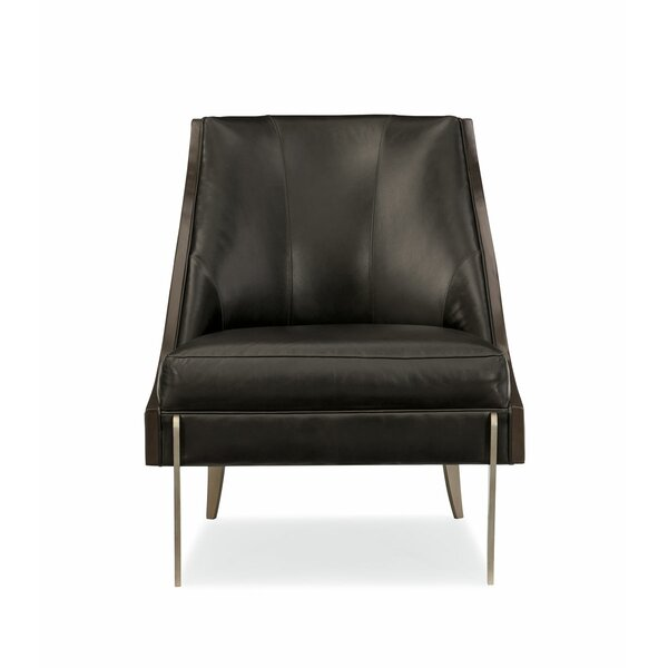 Modern Streamline Side Chair by Caracole Modern