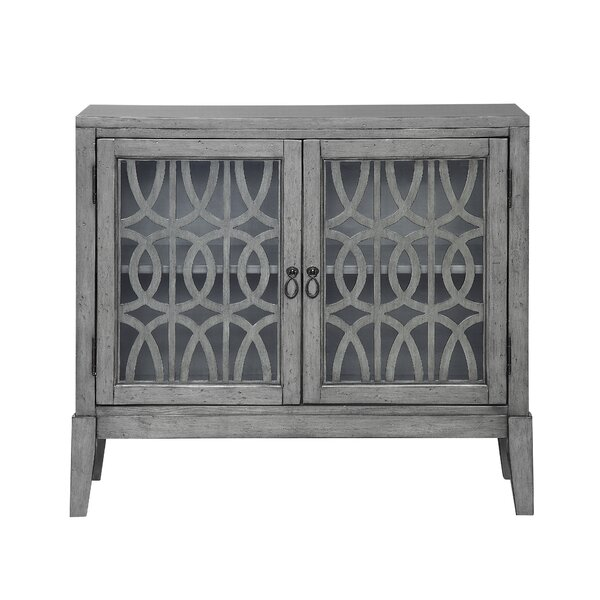 Rosehill 2 Door Accent Cabinet by Bungalow Rose Bungalow Rose