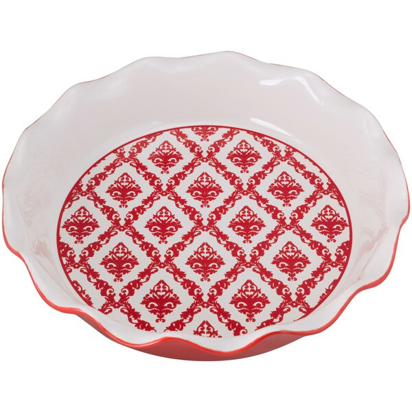 Damask Pie Dish by Ten Strawberry Street