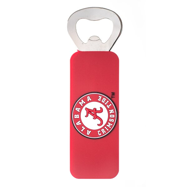 NCAA PVC Magnetic Bottle Opener by JW International Imports LTD