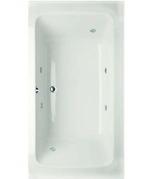 Designer Rachael 66 x 36 Rachael Whirlpool Bathtub by Hydro Systems