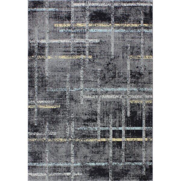 Sanda Gray Area Rug by Williston Forge