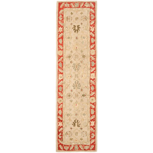 Anatolia Taupe/Red Indoor Area Rug by Safavieh