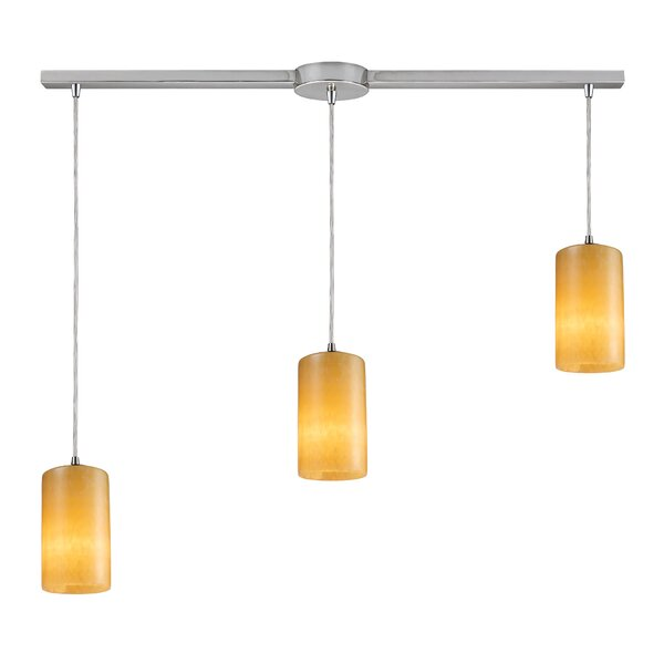 Millbrook 3-Light Cluster Pendant by Bay Isle Home