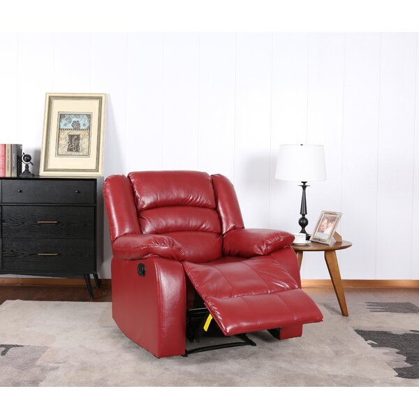 Seymore Manual Wall Hugger Recliner [Red Barrel Studio]