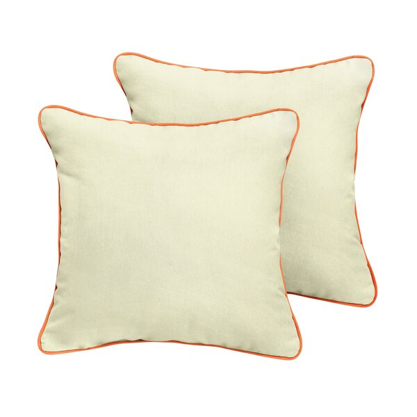 Holton Sunbrella Outdoor Throw Pillow (Set of 2) by Rosecliff Heights