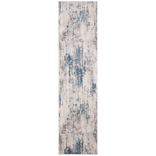 Mainor Gray/Blue Area Rug