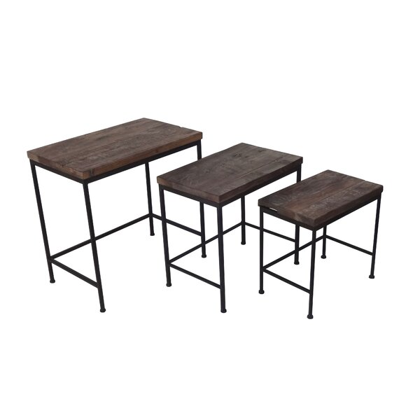 Downes 3 Piece Nesting Tables by Gracie Oaks