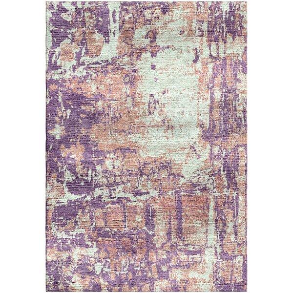 Ashford Handloom Lavender/Blue Area Rug by Ivy Bronx