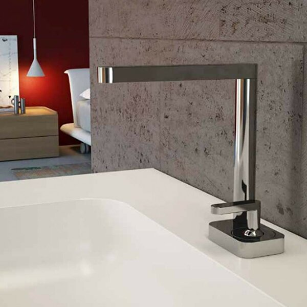 Living Vessel Sink Bathroom Faucet With Single Lever By Webert