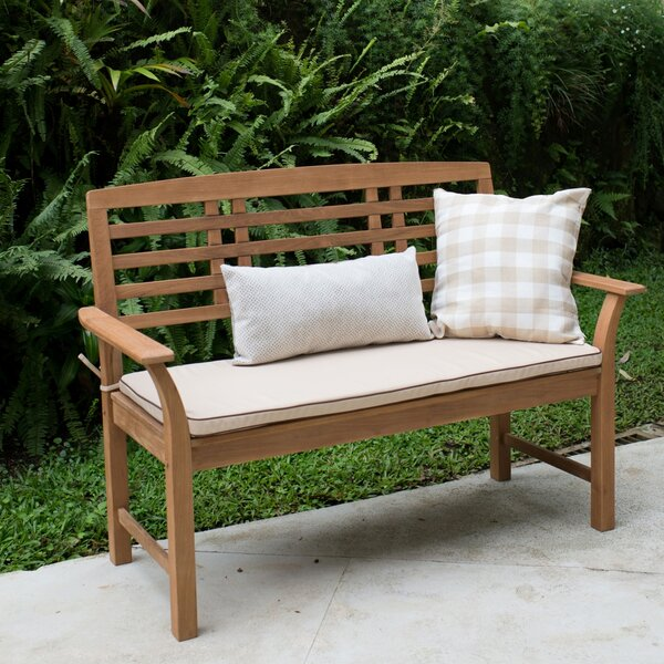 Calila Teak Garden Bench by Birch Lane™