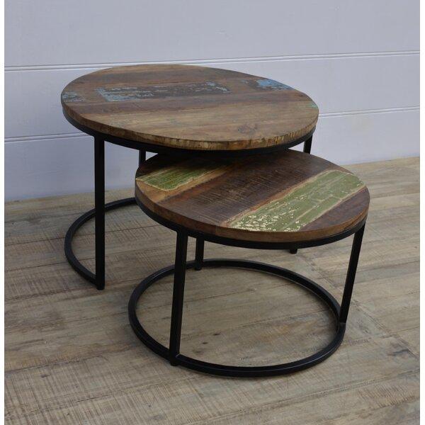 Hagood 2 Piece Nesting Tables by Bloomsbury Market
