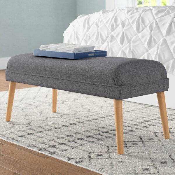 Raleigh Upholstered Ottoman by Langley Street