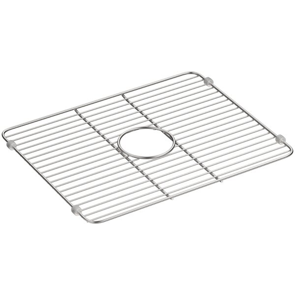 Iron Tones Smart Divide Stainless Steel Large Sink Rack by Kohler