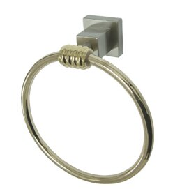 Fortress Wall Mounted Towel Ring by Kingston Brass