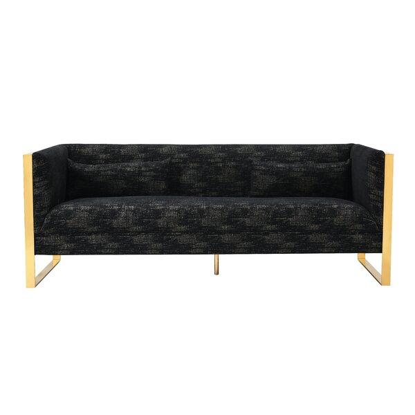 Schuster Sculptural Sofa by Everly Quinn