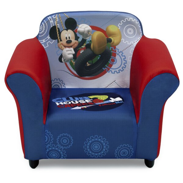 Disney Mickey Mouse Kids Club Chair by Delta Children