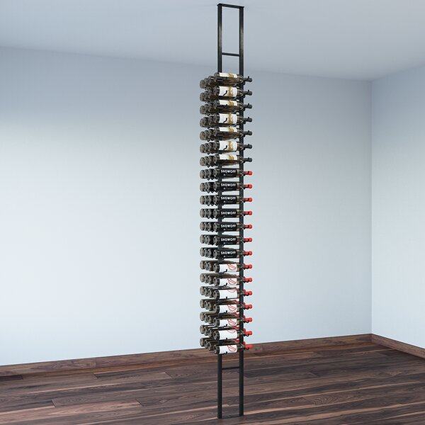 Floating 84 Bottle Wall Mounted Wine Bottle Rack by VintageView VintageView