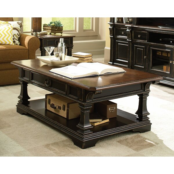 Kaufman Coffee Table with Storage by Darby Home Co Darby Home Co