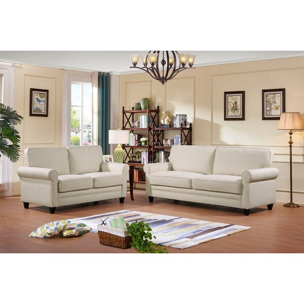 Sunderland 2 Piece Living Room Set by Three Posts