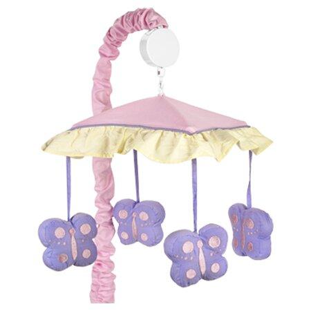 Butterfly Musical Mobile by Sweet Jojo Designs
