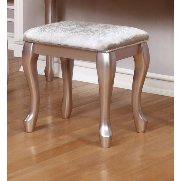 Bruna Vanity Stool by House of Hampton