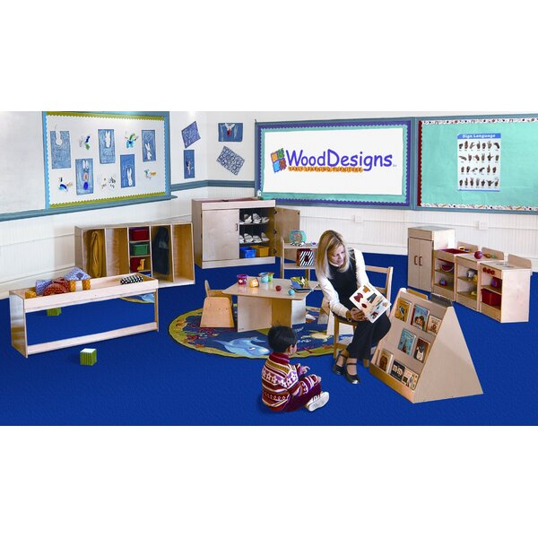 13 Piece Infant/Toddler Classroom Storage Set by Wood Designs
