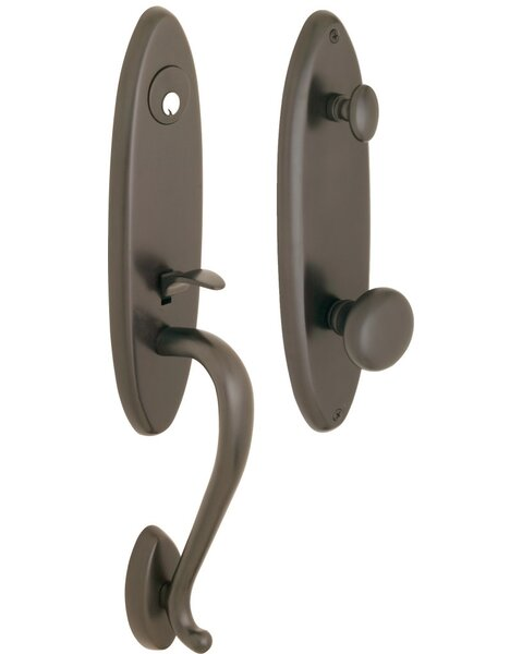 Premium 200 Series Single Cylinder Handleset by Rockwell Security