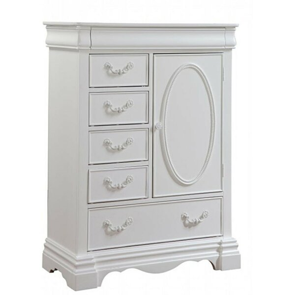 Coles 1 Door Shelf and 6 Drawer Chest by Alcott Hill