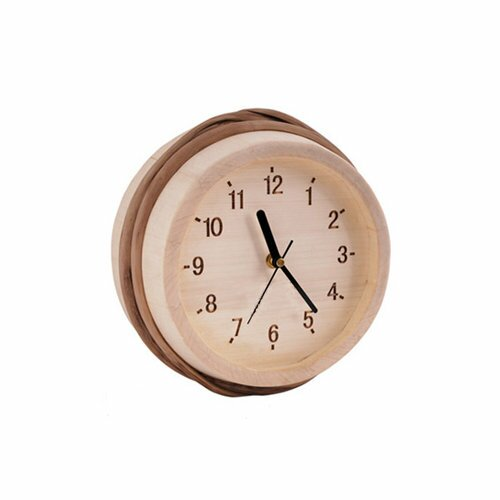Bucket Bottom 10 Wall Clock by Premium Saunas