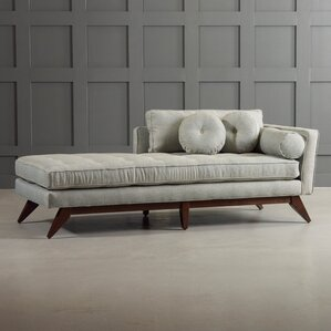 New modern furniture dwellstudio for Carson chaise lounge
