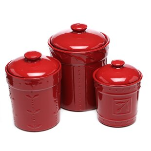 canisters for kitchen counter kitchen canisters amp jars you ll wayfair 16580