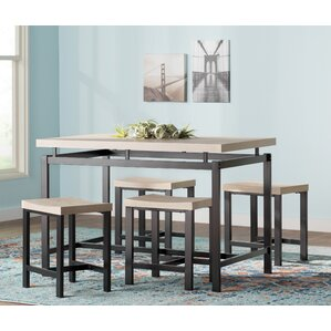 Lovely Bryson 5 Piece Dining Set