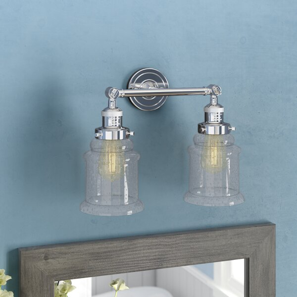 Greeley 2 Light Vanity Light [Laurel Foundry Modern Farmhouse]