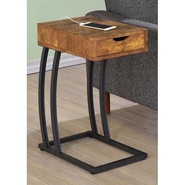 Keira End Table With Storage by Ivy Bronx