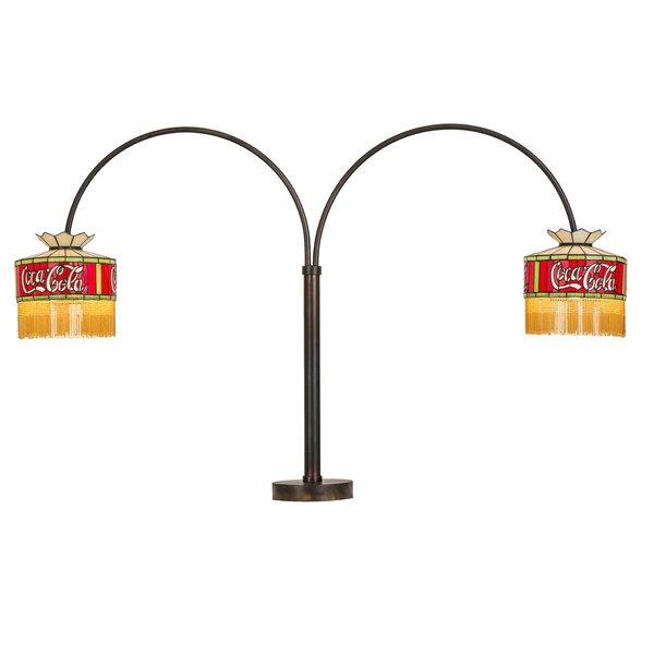 Coca-Cola 2 Light Swing Arm 45 Desk Lamp