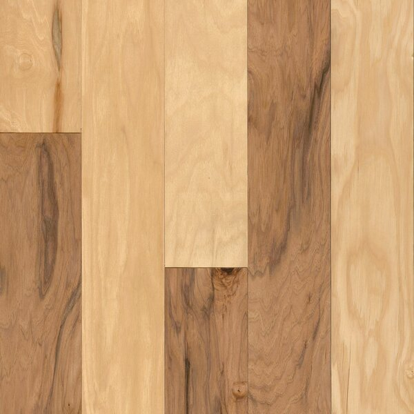 American 5 Engineered Hickory Hardwood Flooring in Natural by Armstrong Flooring