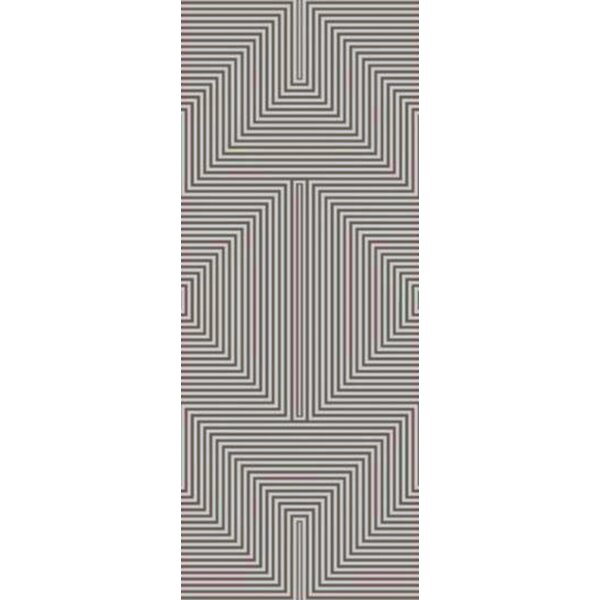Nasir Hand-Tufted Gray Area Rug by Wade Logan