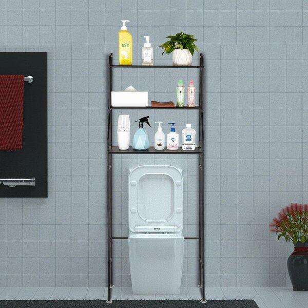 Klatt 23.2' W x 59.4 H x 9.8 D Free-Standing Over-the-Toilet Storage