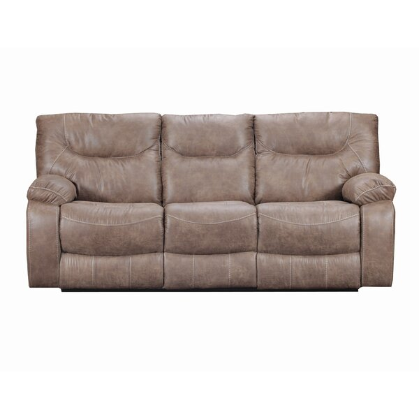 Special Recommended Grizzly Hill Double Motion Reclining Sofa by Loon Peak by Loon Peak