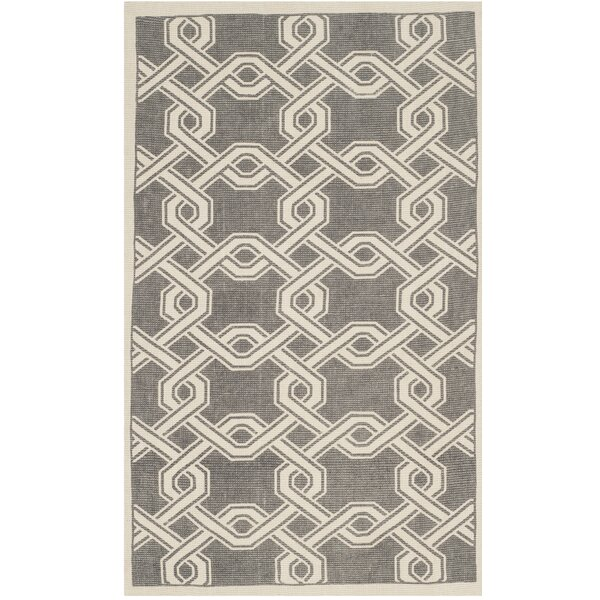 Hand-Loomed Gray/Natural Area Rug by Martha Stewart Rugs