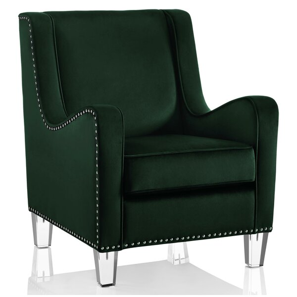 Nixon Wingback Chair by CosmoLiving by Cosmopolitan CosmoLiving by Cosmopolitan