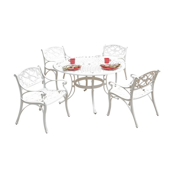 Van Glider 5 Piece Dining Set by Astoria Grand